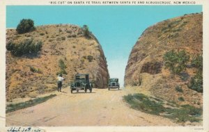 NEW MEXICO , 1910-30s ; Big Cut On Sante Fe Trail
