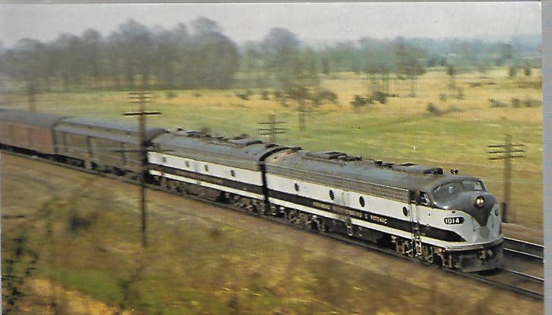 RICHMOND, FREDERICKSBURG & POTOMAC, TRAIN #21 SILVER STAR