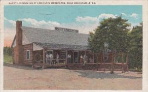 Kentucky Hodgenville Nancy Lincoln Inn At Lincoln's Birthplace 1938