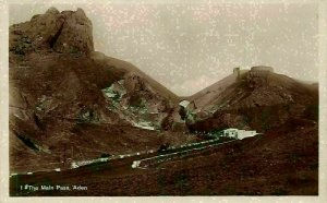 Yemen Aden The Main Pass Postcard