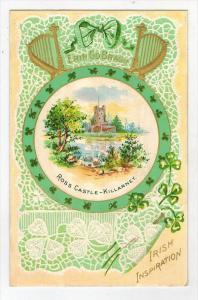 St Patrick´s Day   Ross castle Killarney