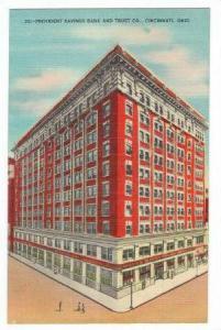 Provident Savings Bank and Trust Co., Cincinnati, Ohio, 30-40s