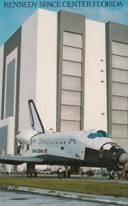 Space Shuttle COLUMBIA , Kennedy Space Center Florida , 1980s