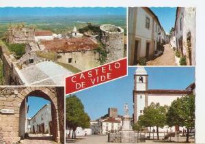 Postal 034706 : Castelo de Vide - Portugal. Anguns aspectos da Vila