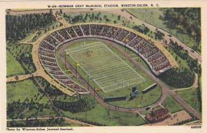 North Carolina Winston Salem Bowman Gray Memorial Stadium