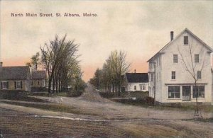 Maine Saint Albans North Main Street