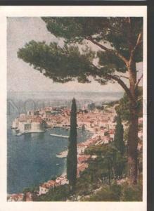 116090 Yugoslavia Croatia DUBROVNIK Old russian postcard