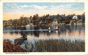Ballston Lake New York