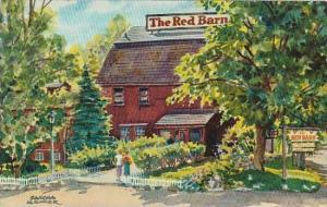 New York Westport The Red Barn 1963