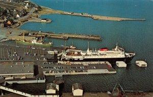 LP53   Ship M. V. Ambrose Shea Vintage Postcard N. Sydney Wharf Australia