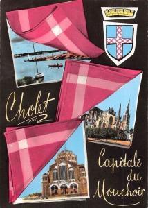 France Cholet Capitale du Mouchoir, Eglise Church Harbour Boats