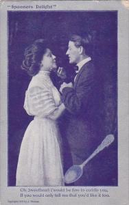 Spooners Delight Romantic Couple Oh Sweetheart 1909