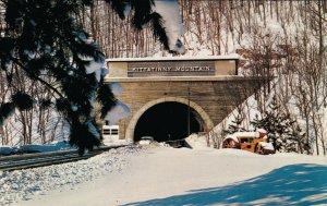 USA Pennsylvania Turnpike World's Most Scenic Highway Kittatinny Mountain 03.76