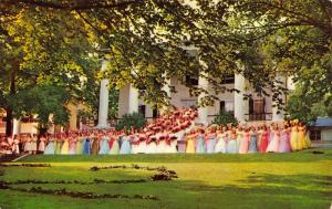 Staunton Virginia~Mary Baldwin College~Senior Class May Day~Graduation~1950s PC