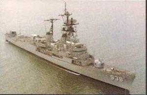 USS JONAS INGRAM DD-938
