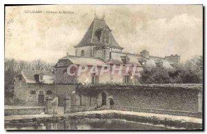 Old Postcard Chateau de Guingamp Keribau