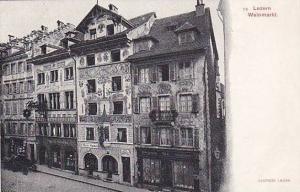 Weinmarkt, Luzern, Switzerland, 1900-1910s