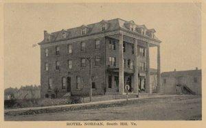 SOUTH HILL , Virginia , 1916 ; Hotel Nordan