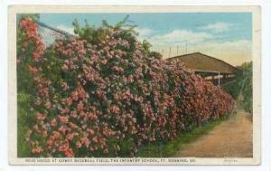 Rose Hedge, Gowdy Baseball Field Stadium, Infrantry School, Fort Benning, Geo...