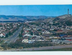 Unused Pre-1980 AERIAL VIEW OF TOWN Anaconda - Near Butte Montana MT F8440