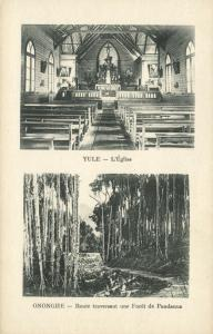 papua new guinea, YULE, Church, ONONGHE, Pandanus Forest (1920s) Mission