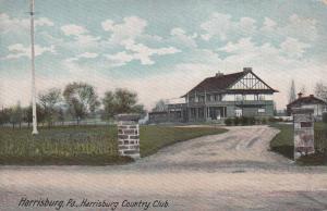 HARRISBURG, Pennsylvania, 1900-1910's; Harrisburg Country Club