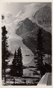 RP; BRITISH COLUMBIA, Canada, 1930-1940's; Mount Robson From Berg Lake