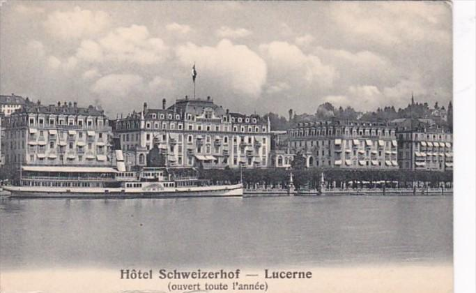 Switzerland Lucerne Hotel Schweizerhof