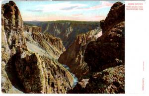 Haynes AUTOCRHOME, Grand Canyon from Grand View, Yellowstone National Park