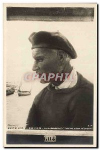 Old Postcard Exhibition 1902 Lauvernay Type Old fisherman