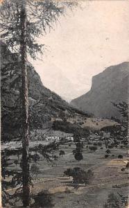 Switzerland Old Vintage Antique Post Card Jungfrau Swiss Alps 1910