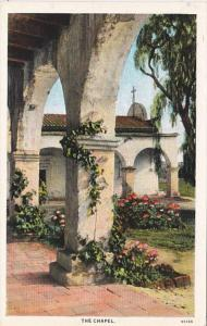 California The Chapel Mission San Juan Capistrano