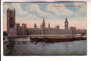 Houses of Parliament, Rowing Boats, London, England, National Series, M & L L...