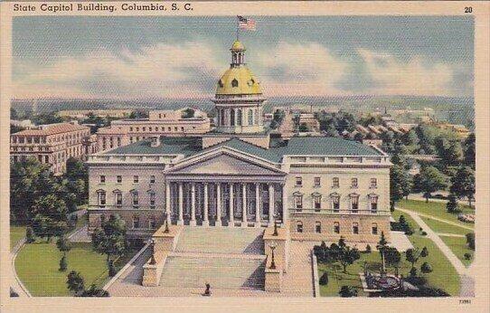State Capitol Building Columbia South Carolina