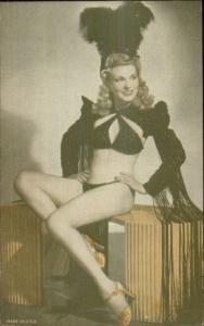 Sexy Pin-Up Woman Semi Nude Arcade Exhibit Card c1920s-30s #10