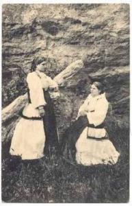 Two Grecian Women in Native Costume, 00-10s