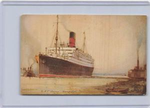 R.M.S. Laconia  Cunard Line