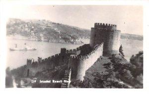 Rumeli Kiser Istanbul Turkey Real Photo Unused