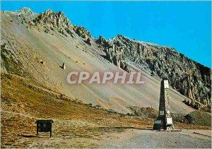 Postcard Modern 2360m Col Izoard Pass Summit the Stele