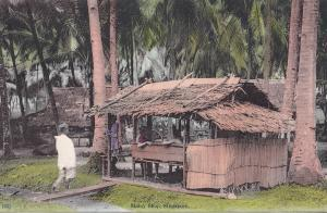 Malay Shop Singapore Antique Postcard