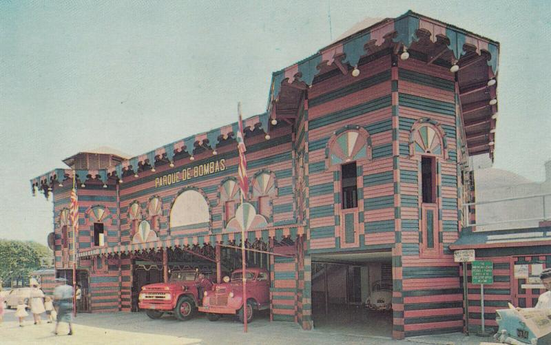 PONCE, Puerto Rico, 1940s-60s; Firehouse