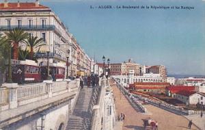 Algeria Alger Le Boulevard de la Republique et les Rampes
