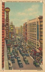 USA - Shopping District Washington Street Boston - 01.69