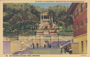 Entrance To Government Reservation Hot Springs Mountain Hot Springs National ...