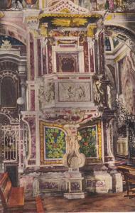 Pulpito de la Catedral, Pulpit of the Cathedral, CARTAGENA, Colombia, PU-1938