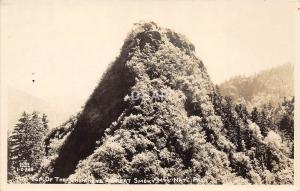 C74/ Great Smoky Mountains National Park Tennessee Tn Postcard RPPC Chimneys 4
