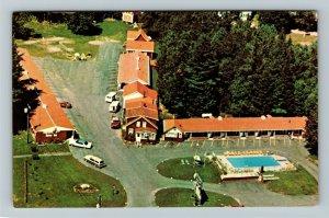 Lincoln NH- New Hampshire, Drummer Boy Motor Inn, Hotel, Chrome Postcard