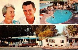 California Desert Hot Springs Tradewinds Spa-Tel