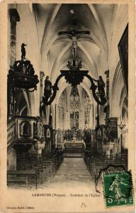CPA LAMARCHE Interieur de l'Église (401043)