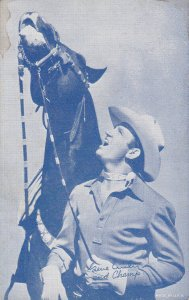 Cowboy : Gene Autry and Champ, 30s-40s